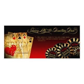 Sharon & Demetrius LINEN Las Vegas Deluxe Red Card