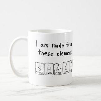 Sharon periodic table name mug