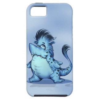 SHARP ALIEN CARTOON iPhone SE + iPhone 5/5S  TOUGH iPhone 5 Cover