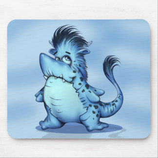 SHARP ALIEN MONSTER CUTE CARTOON MOUSE PAD