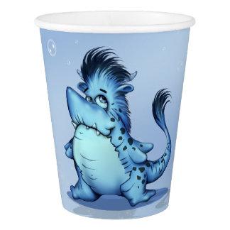 SHARP ALIEN MONSTER CUTE Paper Cup, 9 oz