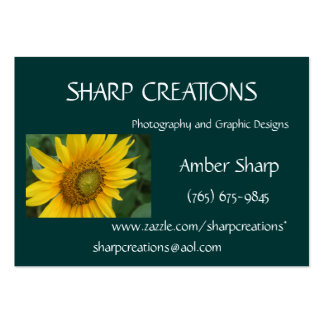 Sharp Creations Business Card