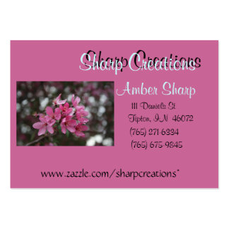 Sharp Creations Business Card - Customized
