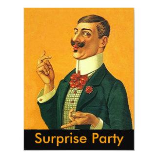 Sharp Dapper Snapper ~ Surprise Party Invitation
