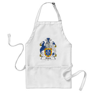 Sharp Family Crest Standard Apron