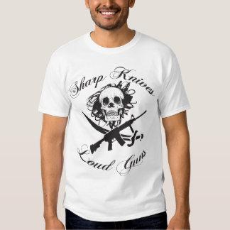 Sharp Knives Loud Guns Shirt
