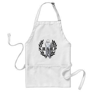 sharp skin standing standard apron
