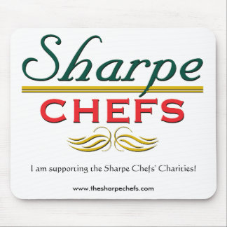 Sharpe Chefs Supporter Mouse Mat
