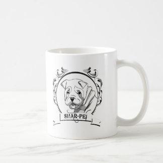 Sharpei T-shirt Mug