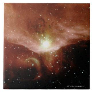 Sharpless 140 Nebula Large Square Tile