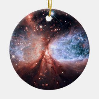 Sharpless 2-106 Nebula Star Formation Space Christmas Ornaments