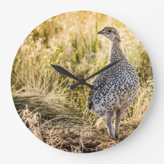 Sharptailed Grouse Wall Clock