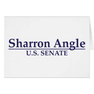 Sharron Angle U.S. Senate Greeting Card