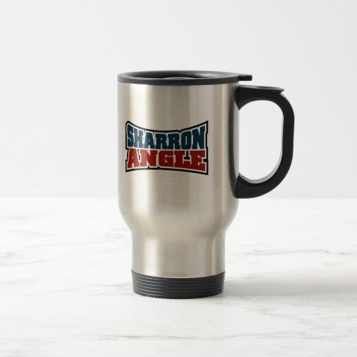 Sharron Angle Waving Flag Mug