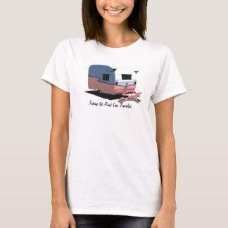 Shasta Camper Pink T-Shirt