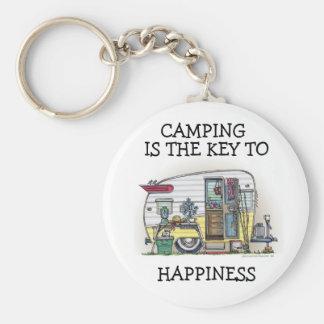 Shasta Camper Trailer RV Keychains