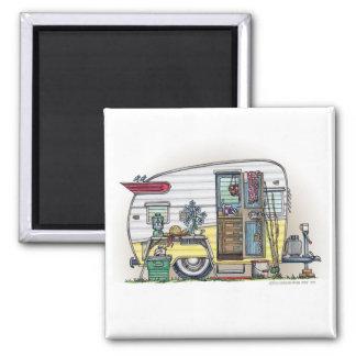 Shasta Camper Trailer RV Magnets