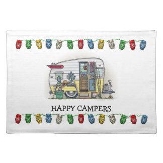 Shasta Camper Trailer RV Placemat