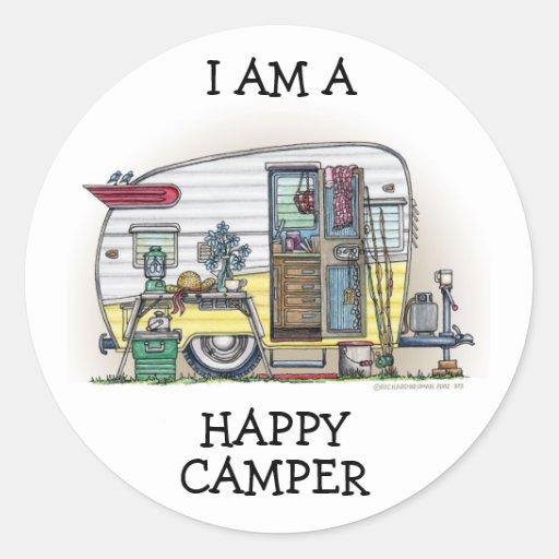 Shasta Camper Trailer RV Stickers