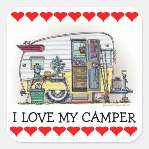 Shasta Camper Trailer RV Sticker