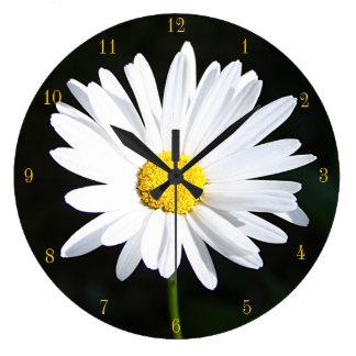 Shasta Daisy Clock