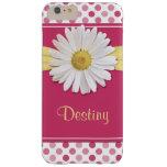 Shasta Daisy Pink Polka Dot Flower Floral