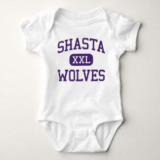 Shasta - Wolves - High School - Redding California T-shirts