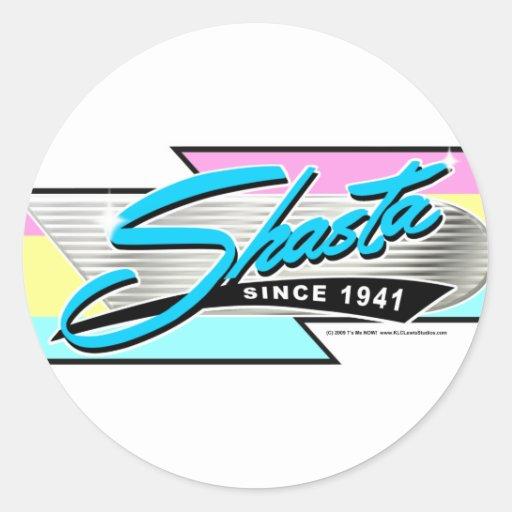 Shasta Z Stripe Stickers