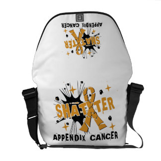 Shatter Appendix Cancer Courier Bags