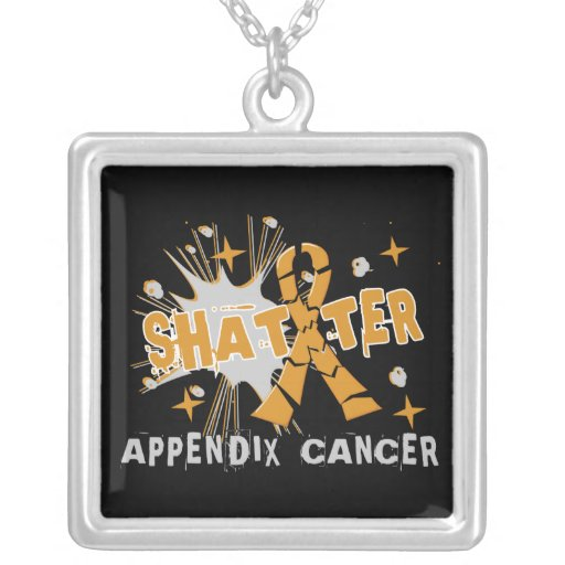 Shatter Appendix Cancer Custom Necklace