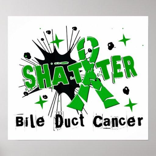 Shatter Bile Duct Cancer Poster