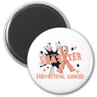 Shatter Endometrial Cancer Fridge Magnet