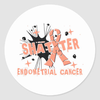 Shatter Endometrial Cancer Stickers