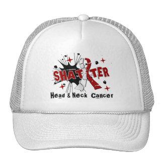 Shatter Head Neck Cancer Hat