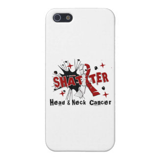 Shatter Head Neck Cancer Covers For iPhone 5
