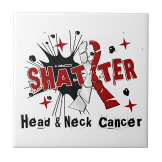Shatter Head Neck Cancer Ceramic Tiles
