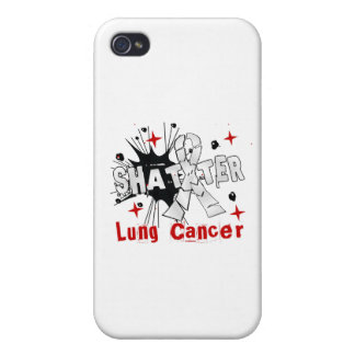 Shatter Lung Cancer iPhone 4 Covers