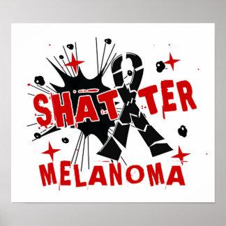 Shatter Melanoma Poster