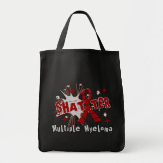 Shatter Multiple Myeloma Tote Bags
