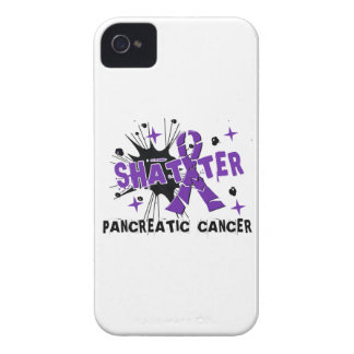 Shatter Pancreatic Cancer iPhone 4 Cover