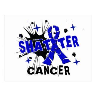 Shatter Rectal Cancer Postcard