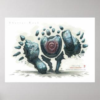 Shatter Rock Print