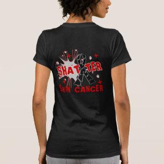 Shatter Skin Cancer Tee Shirts