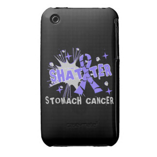 Shatter Stomach Cancer Case-Mate iPhone 3 Case
