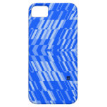 Shatter Stripe Blue Retro iPhone 5 ID Case iPhone 5 Case