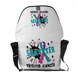 Shatter Thyroid Cancer Messenger Bag