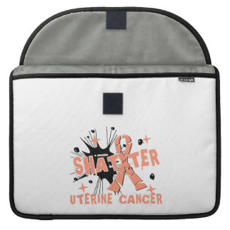 Shatter Uterine Cancer MacBook Pro Sleeve