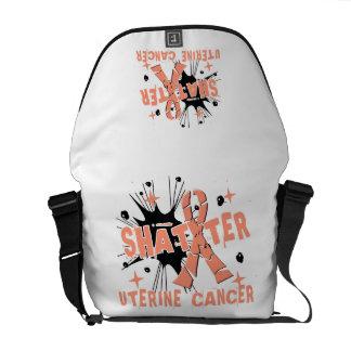 Shatter Uterine Cancer Messenger Bag