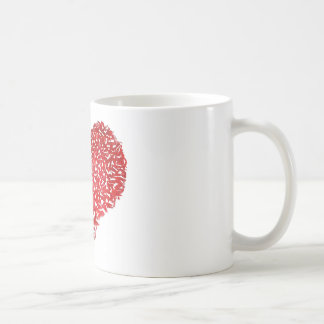 Shattered Heart Classic White Coffee Mug