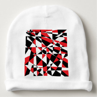 Shattered Life Tricolor Baby Beanie